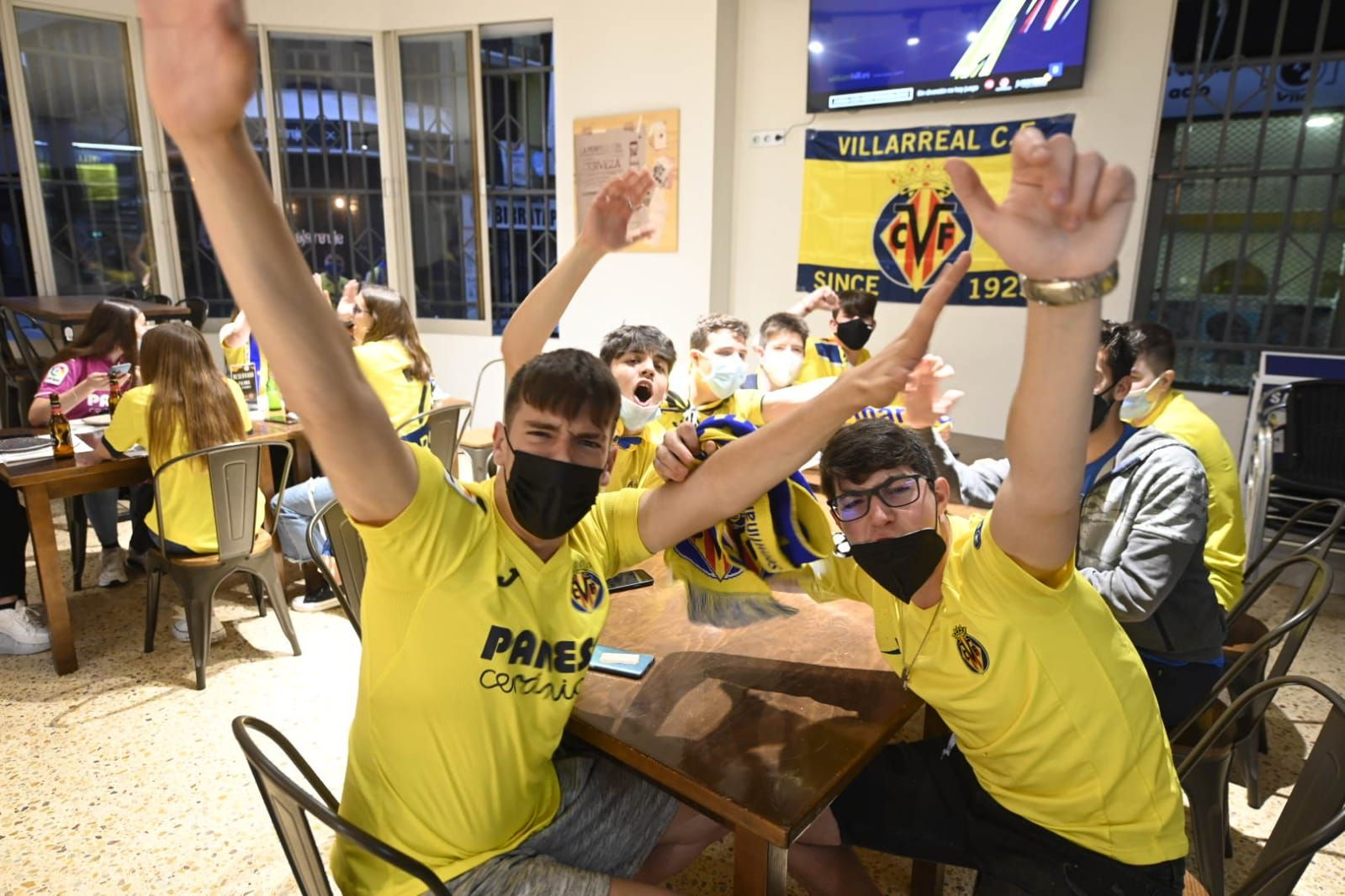 Así disfruta Vila-real de la final de 'su' Villarreal