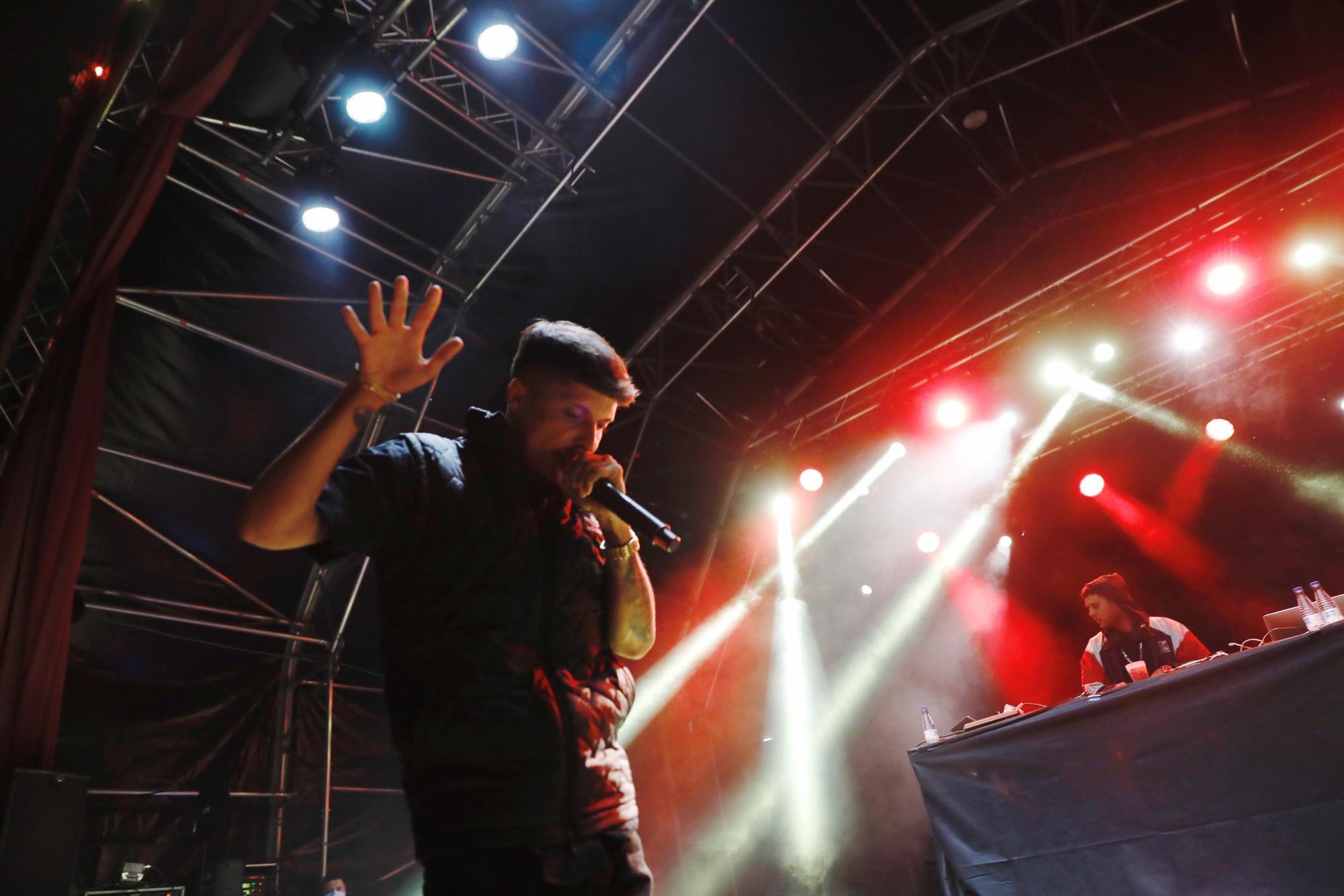 """Triple sesión de rap en El Bibio con """"Ernes H"""", """"Funzo & Baby Loud"""" y """"Prok"""""""