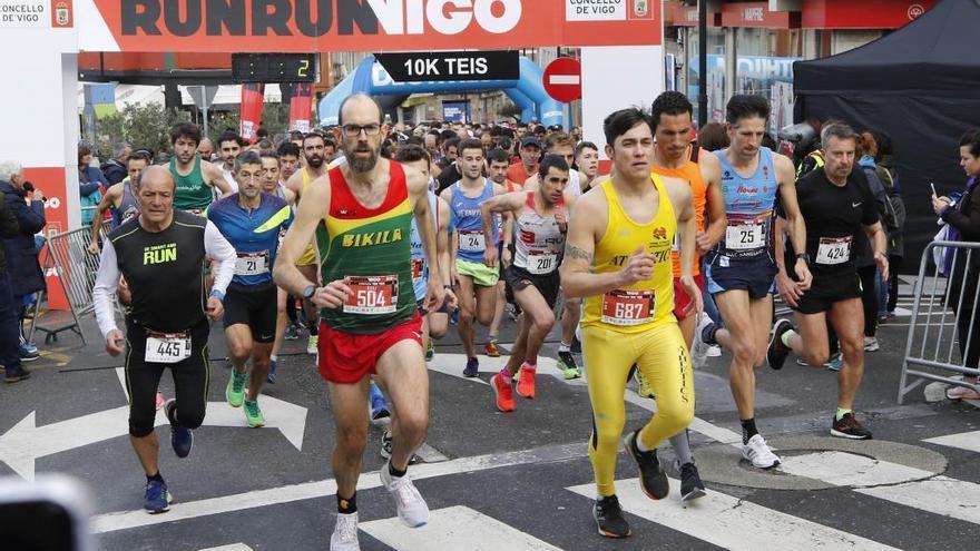 Declaradas desiertas las clasificaciones del Run Run Vigo 2020
