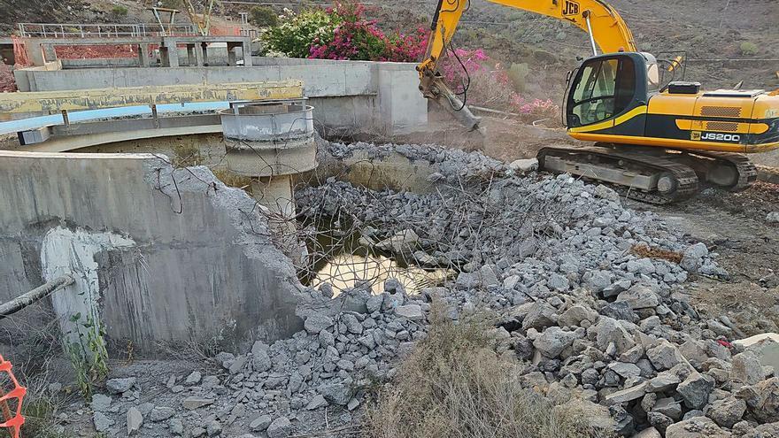 Empieza la mejora de la depuración de las aguas negras en Guía y Santiago del Teide