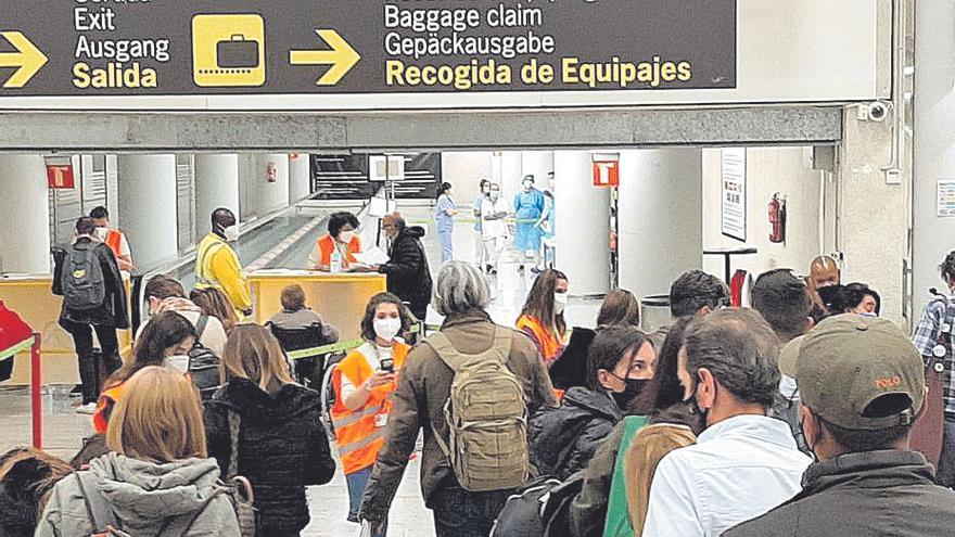 Baleares levanta el 31 de octubre todos los controles sanitarios de coronavirus en puertos y aeropuertos