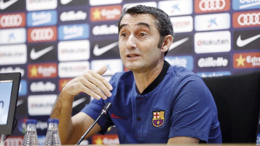 Valverde se plantea rotar ante el Espanyol