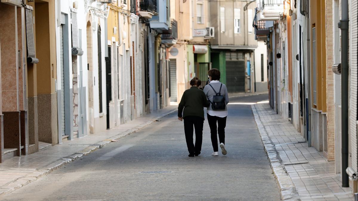 La localidad valenciana de Guadassuar, donde Sanitat ha aplicado nuevas restricciones ante el aumento de casos de coronavirus