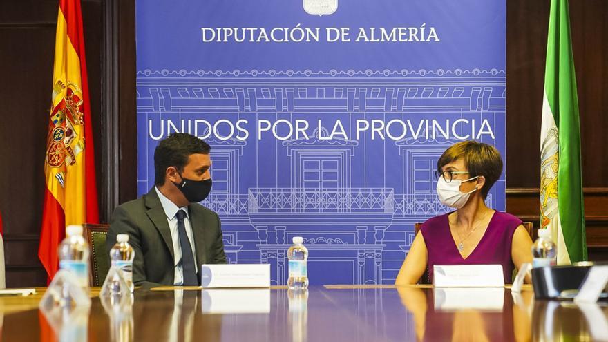 El presidente de la Diputación de Almería, Javier Aureliano García, detenido por adjudicaciones irregulares