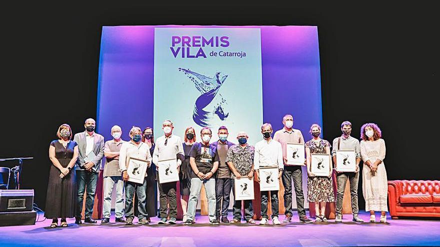 El Premis Vila de Catarroja celebren els seus 40 anys