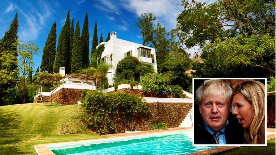 Polémica en el Reino Unido por las vacaciones Boris Johnson