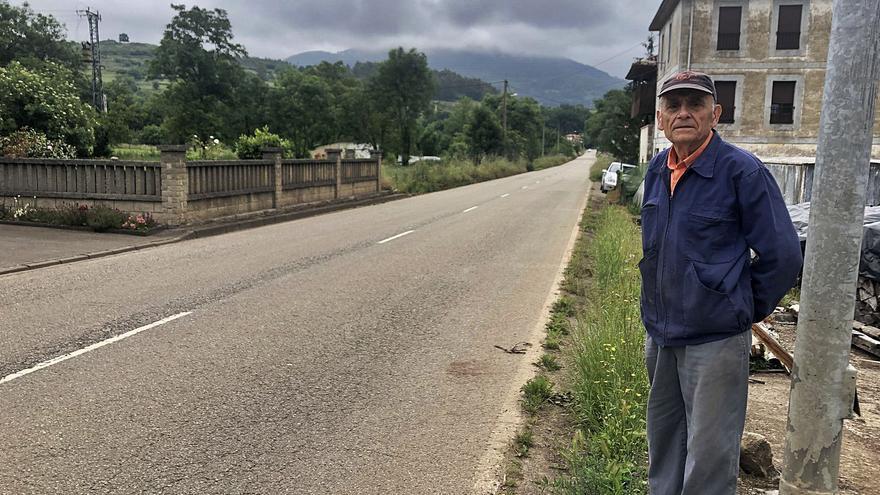 """Las consecuencias del """"argayón"""" para el Occidente: Prudencio Fernández tiene la autopista """"Y"""" delante de casa"""