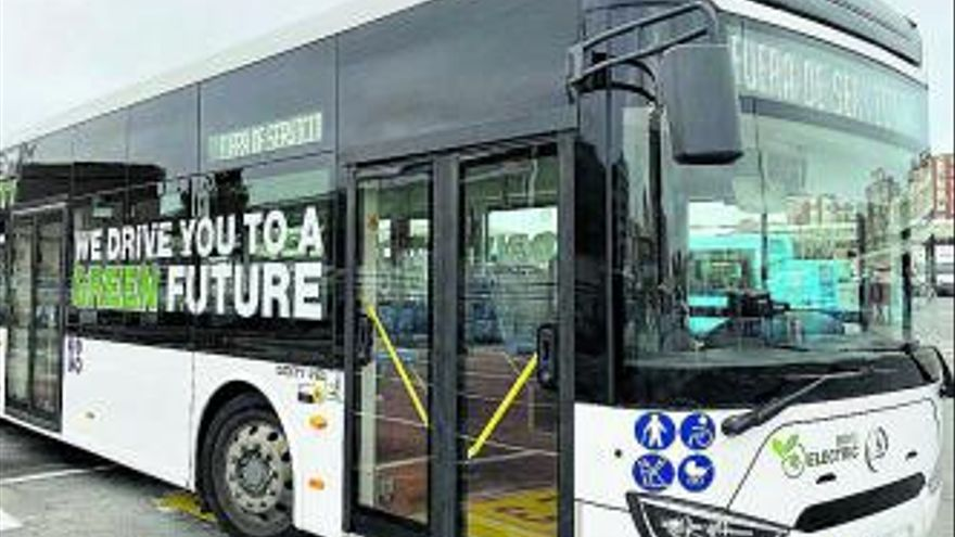 La EMT prueba un autobús eléctrico