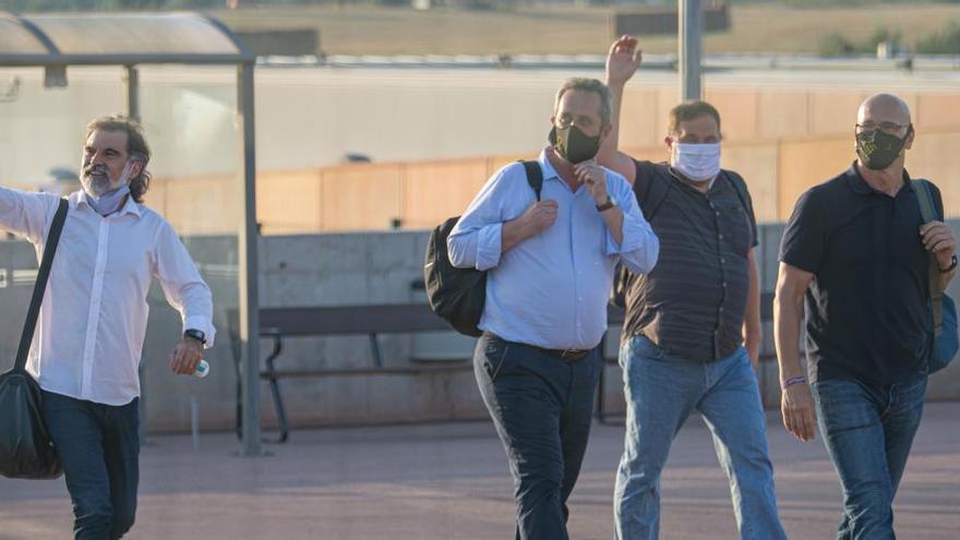 Marlaska evita comentar los indultos a los presos del 1-O