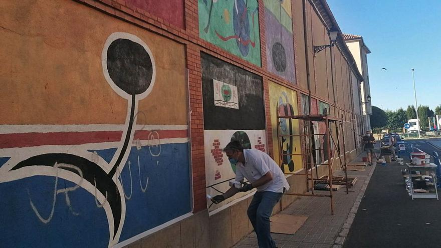 Toro, un lienzo para el arte urbano