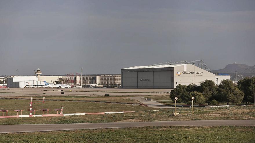 El hangar de Air Europa en Mallorca da mantenimiento a aviones que se están devolviendo