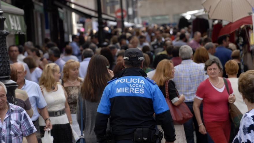 La baja delincuencia coloca a Mieres como el más seguro de los grandes concejos
