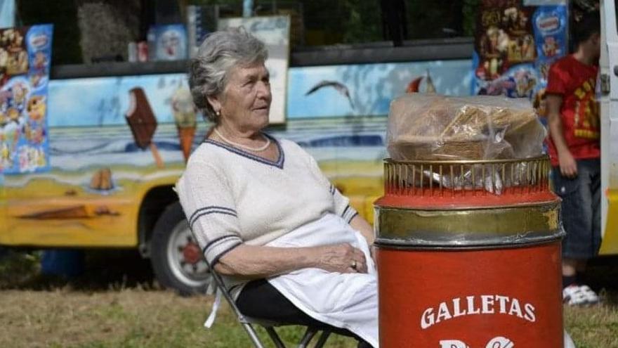 Doloroso adiós a Brígida, la reina de la galleta del Campo
