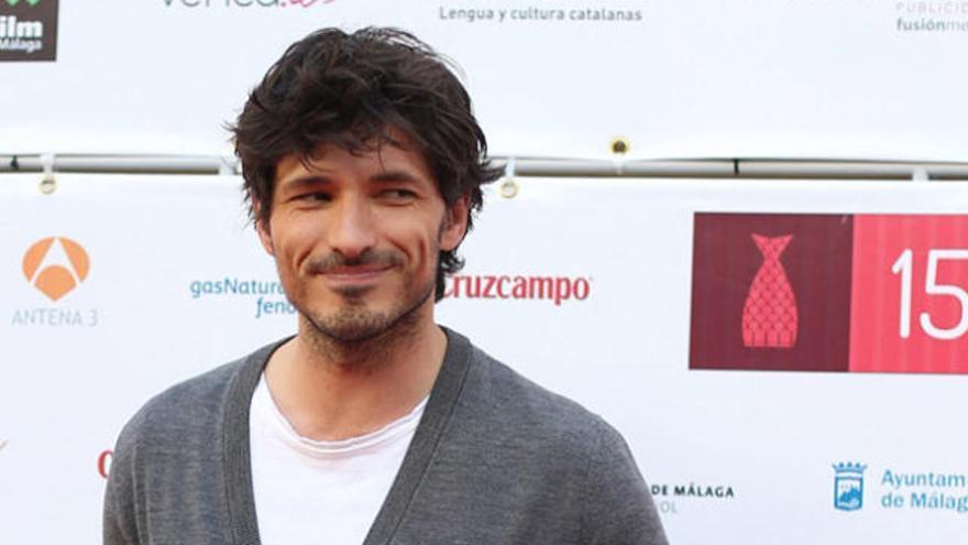 """Andrés Velencoso: """"Mi primer trabajo en el cine no ha sido fácil"""""""