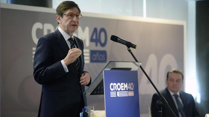 """El presidente de Bankia, en Murcia: """"Queremos ser el mejor banco de España"""""""