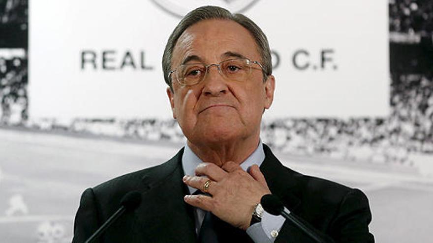 Florentino denuncia una campaña contra él y ratifica a Rafa Benítez