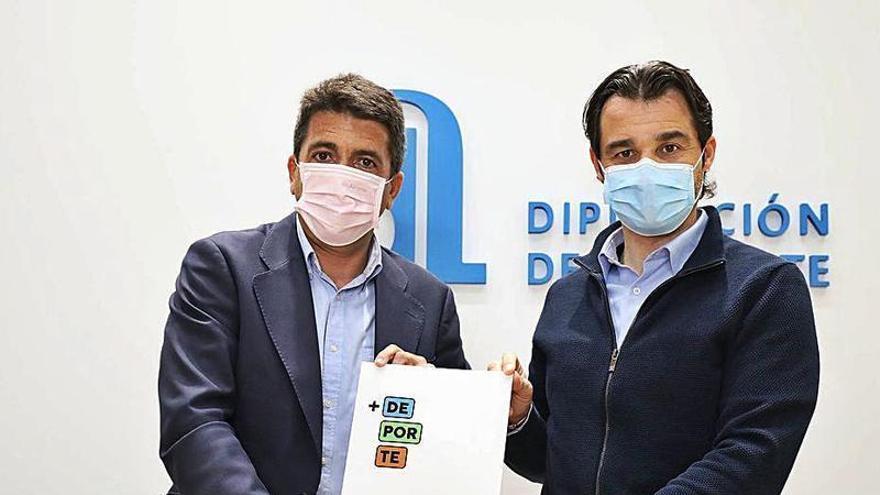 La Diputación crea el Plan + Deporte para invertir 10 millones