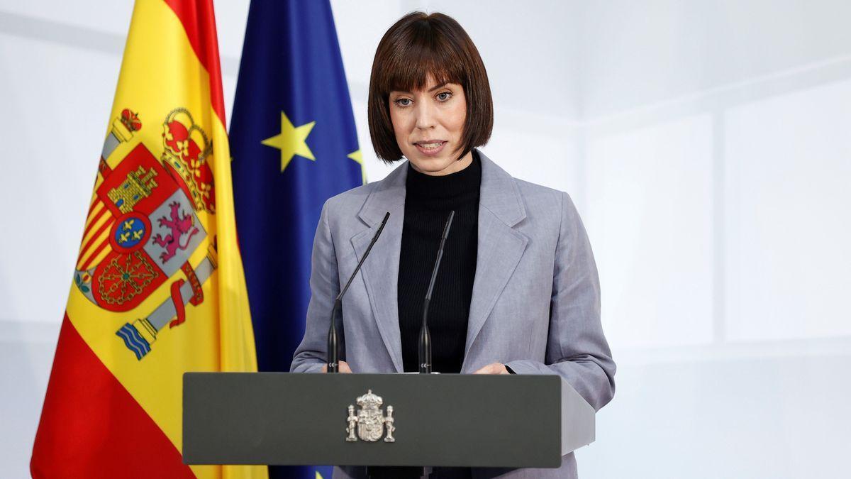 La ministra Diana Morant