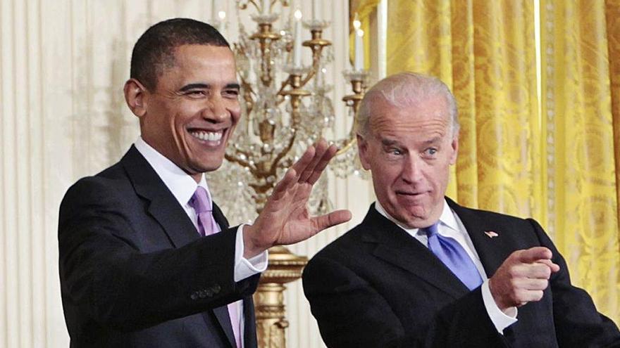"""Obama se estrena en Pensilvania para dar impulso a Biden en los estados """"bisagra"""""""