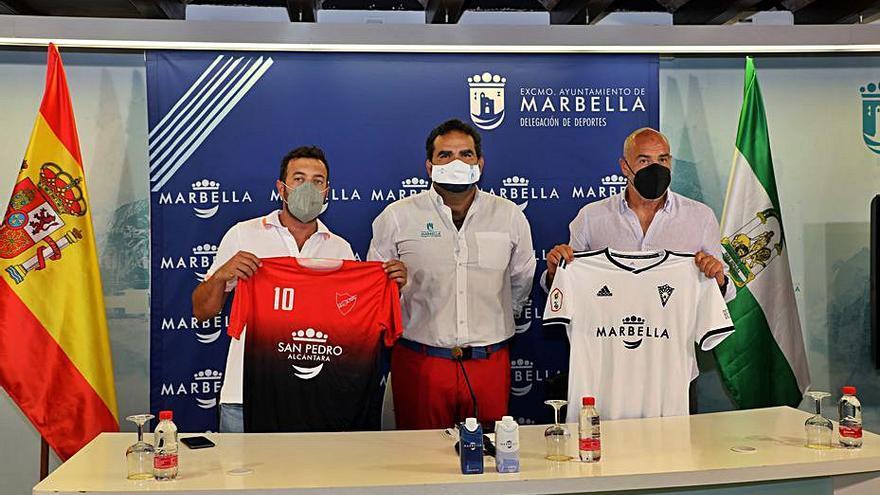 Ayuda de 120.000 euros para el Marbella FC y la UD San Pedro