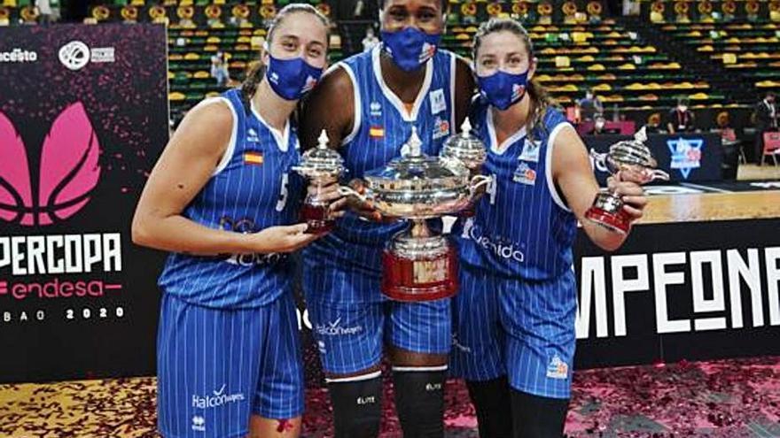 Leonor Rodríguez, Maite Cazorla y Umi Diallo inician  la 'Final Four' en Turquía