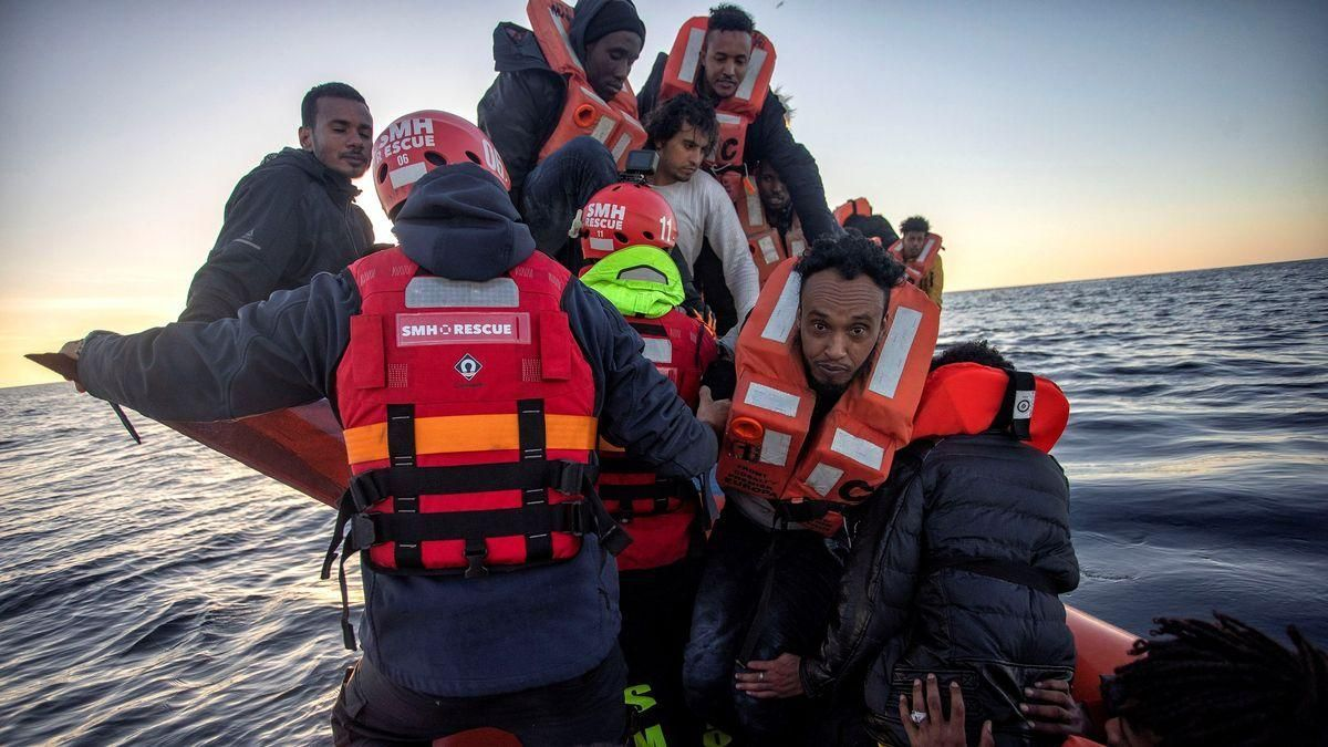 Rescatados 47 inmigrantes en un naufragio en Lampedusa