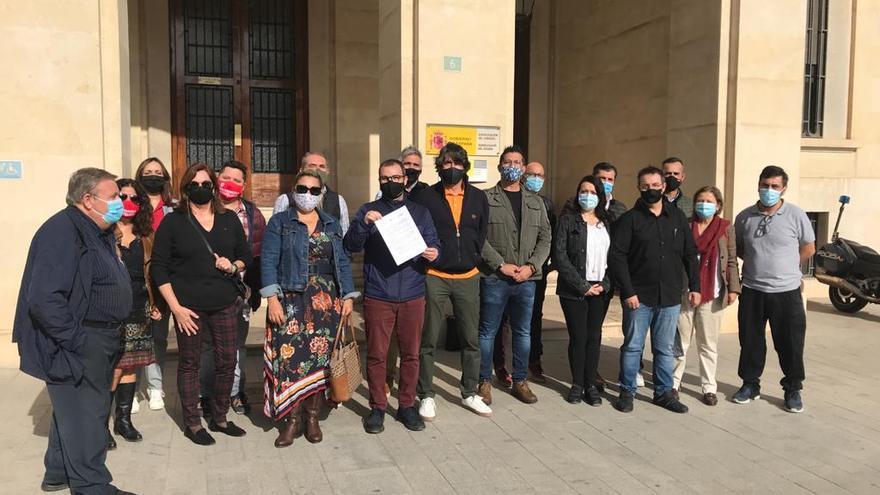 El sector de la hostelería de Alicante reclama a Pedro Sánchez ayudas reales