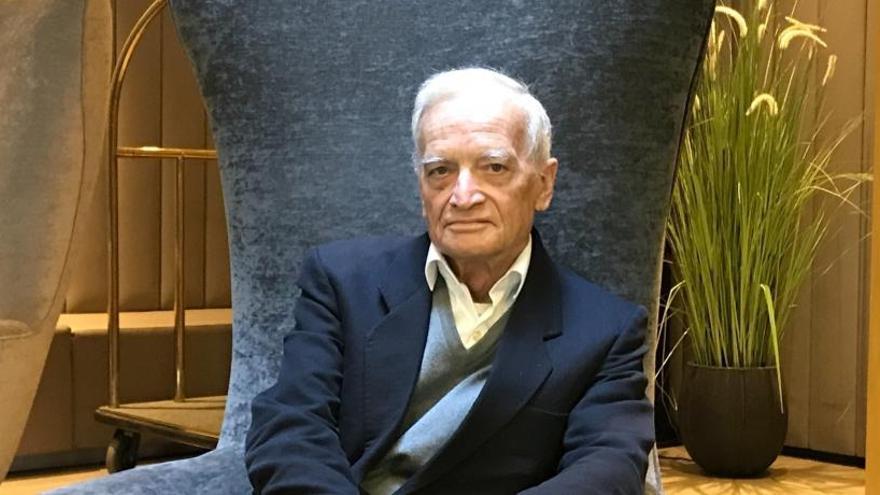 """Luis Goytisolo: """"Espero que siga existiendo afición a los libros"""""""