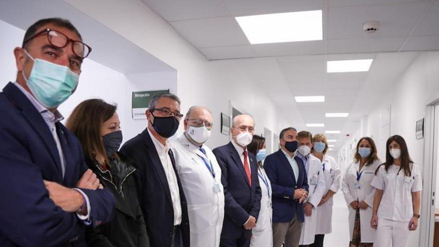 El Hospital Civil de Málaga unifica su servicio de Nutrición y Endocrinología en una planta