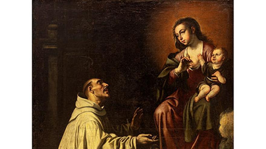 El Museo de Bellas Artes de València adquiere 'Visión mística de San Bernardo', de Jerónimo Jacinto de Espinosa