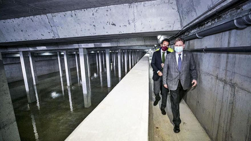 Oviedo cederá la parcela de los depósitos de agua para ampliar el campus del Cristo