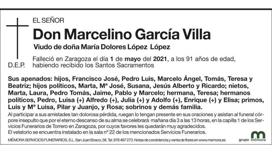 Marcelino García Villa