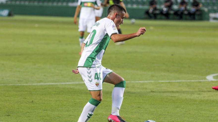 Diego Bri se convierte en el sexto canterano que debuta esta temporada con el Elche