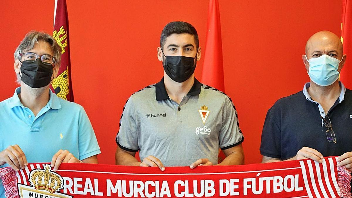 Paco Cobacho, Antonio López y Manolo Molina. | PRENSA REAL MURCIA