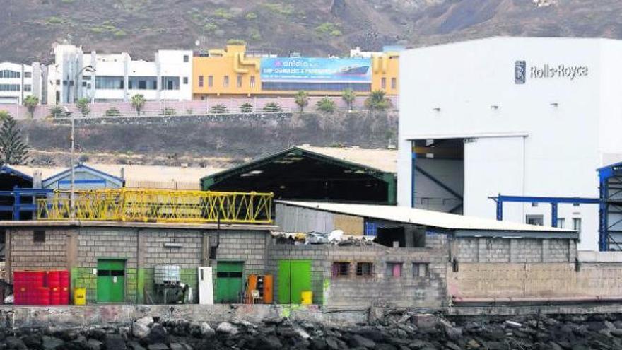 Rolls-Royce se queda en el Puerto