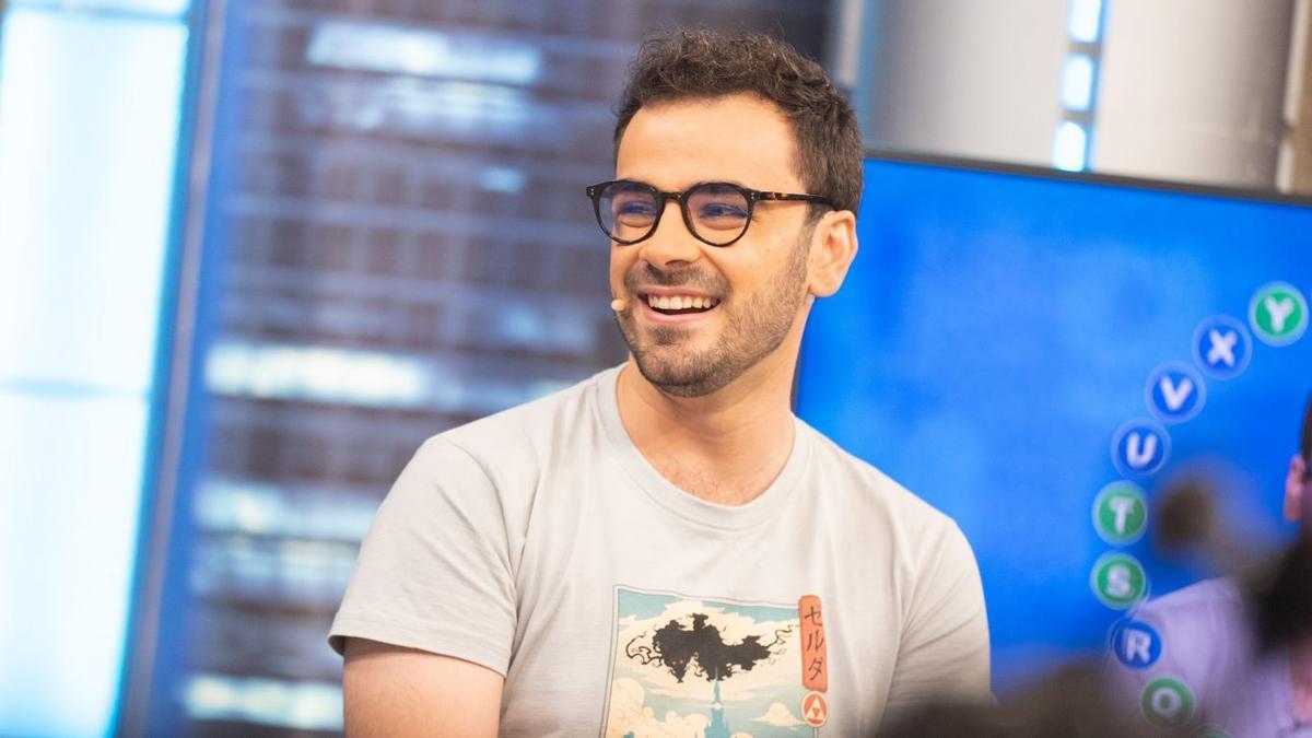 Pablo Díaz en el programa 'El hormiguero'.