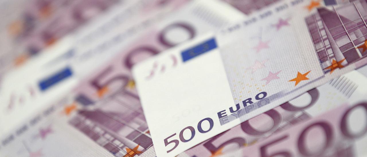 Billetes de euro. // Lee Jae-Won