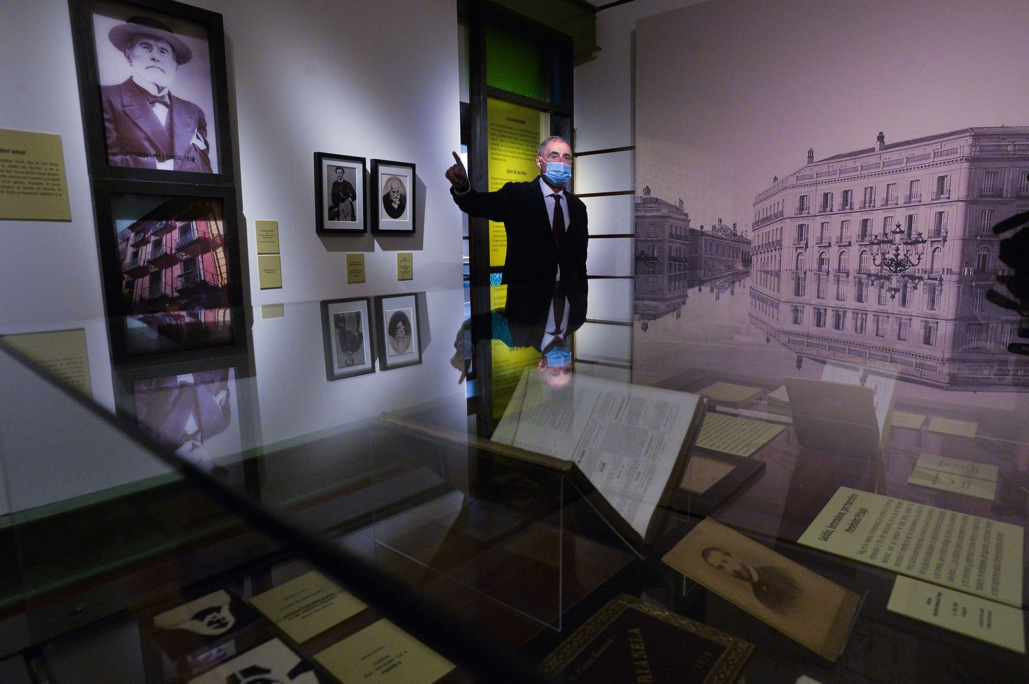 Inauguración de la exposición 'Benito Pérez Galdós. La verdad humana'