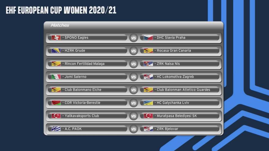 El Elche, rival del Guardés en dieciseisavos de final de de la EHF European Cup