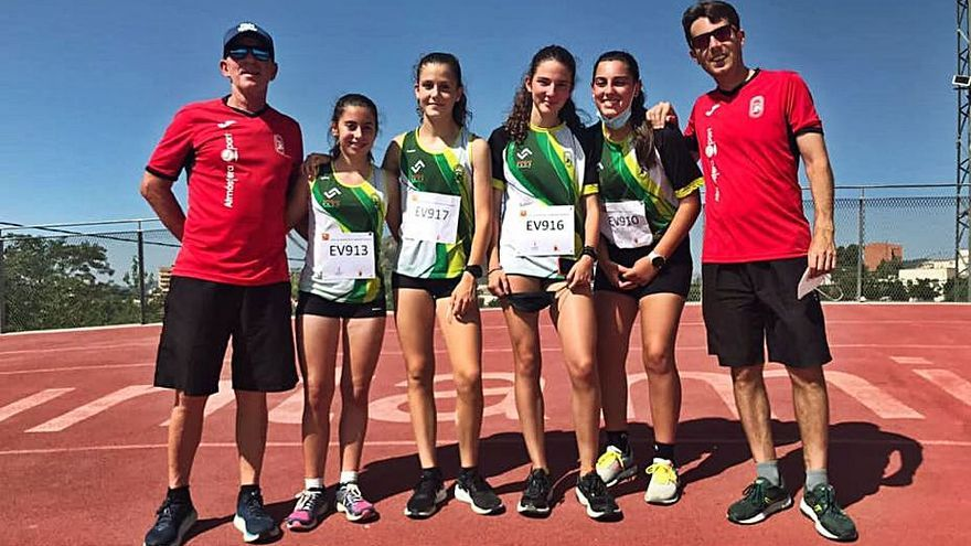 Plata autonómica del CA la Valldigna con Mara Rolli campeona