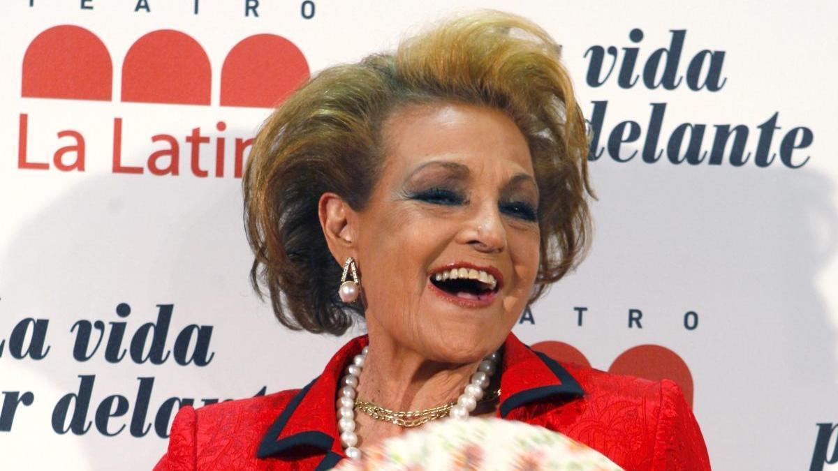 Carmen Sevilla en una imagen de archivo.