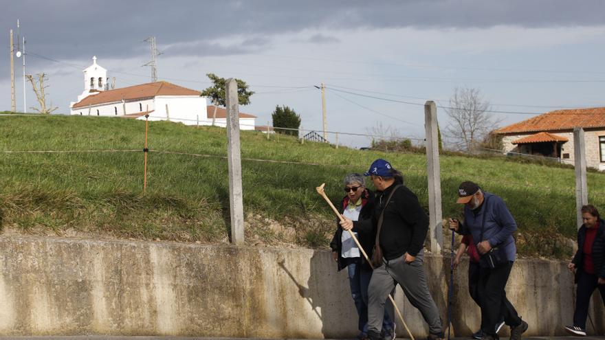 Rutas por Asturias: El anillo de Santurio (Gijón)