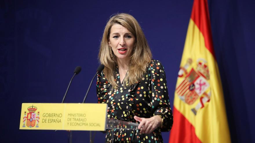 Yolanda Díaz asume el reto de la vicepresidencia segunda en sus redes sociales