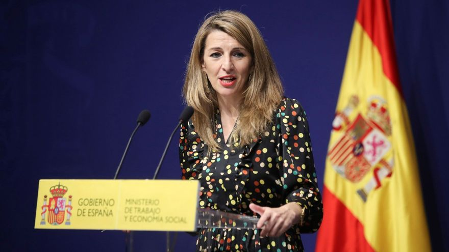 "Yolanda Díaz será la vicepresidenta segunda: ""Será un honor"""