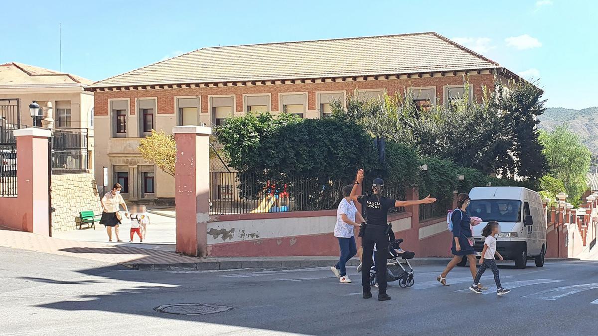 El colegio Eloy Coloma de Xixona