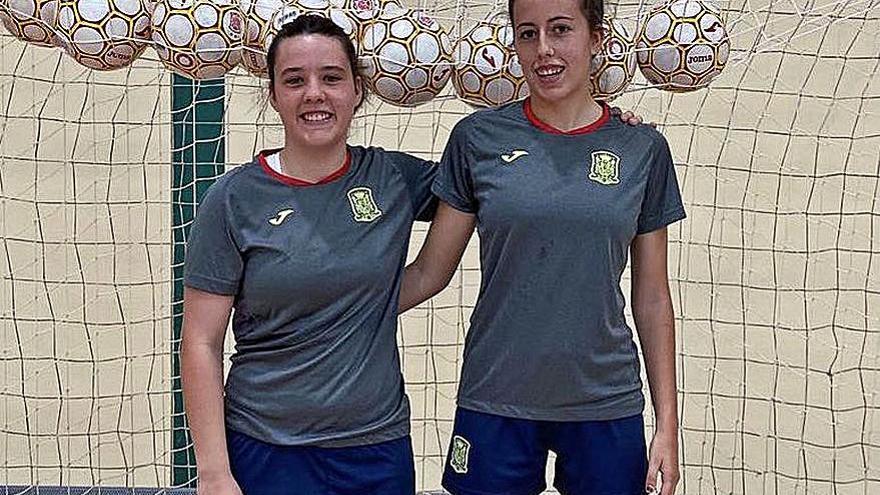 Las jugadoras del Cidade ya se miden con la selección