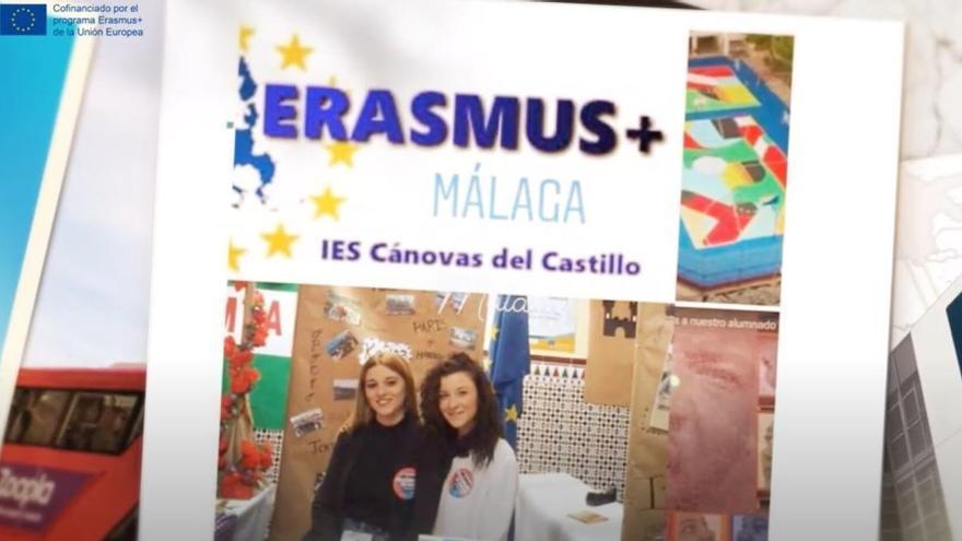 Dos institutos de Málaga conmemoran el día de Europa