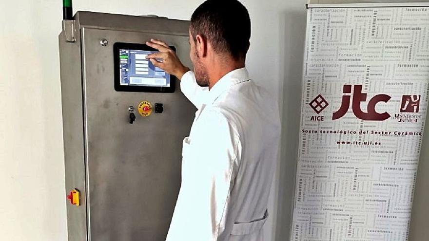 ITC-AICE lanza un prototipo para el control de la molienda cerámica