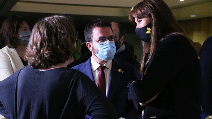 JxCat mantindrà l'abstenció a la segona votació de la investidura d'Aragonès