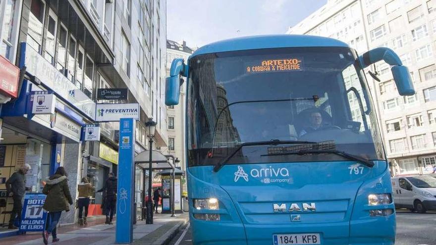 Acelerón al bus comarcal